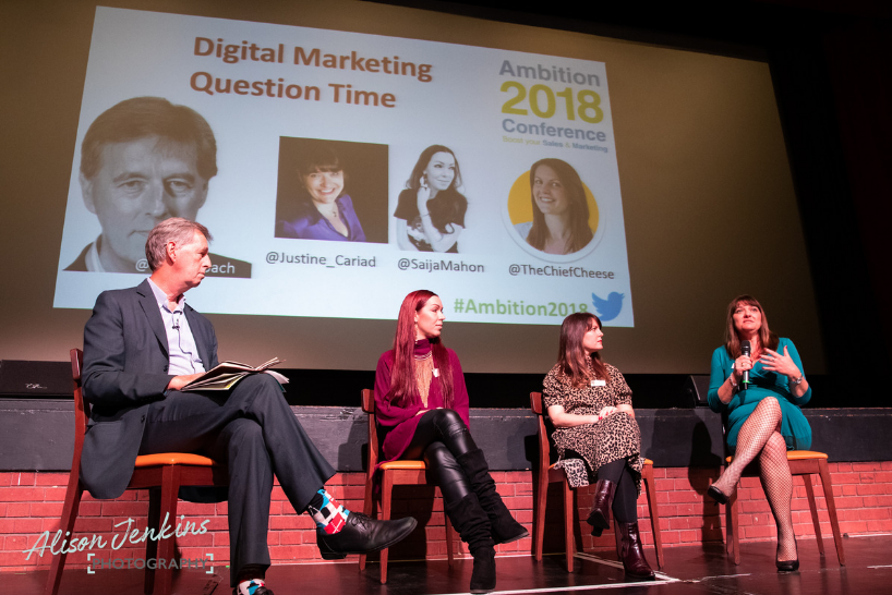 Digital marketing panel with Kelly Molson from Rubber Cheese