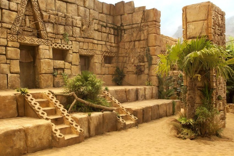 The Aztec Zone from The Crystal Maze copy