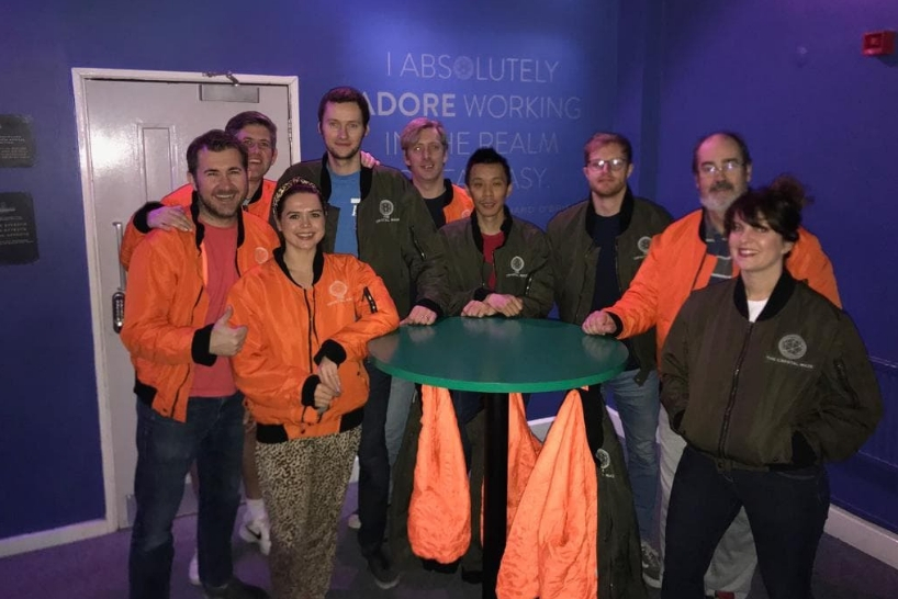 The Rubber Cheese team at The Crystal Maze LIVE Experience copy