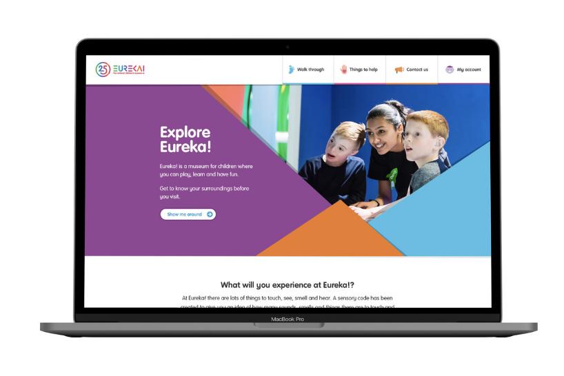 Eureka! The National Children's Museum website