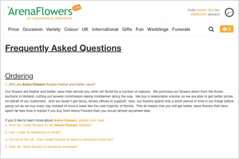 Arena-Flowers-FAQ-page