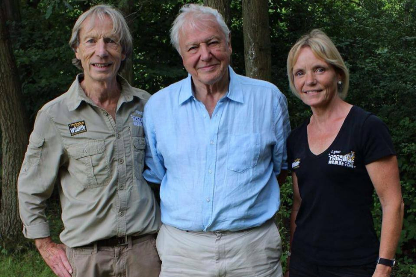 David Attenborough and Paradise Wildlife Park