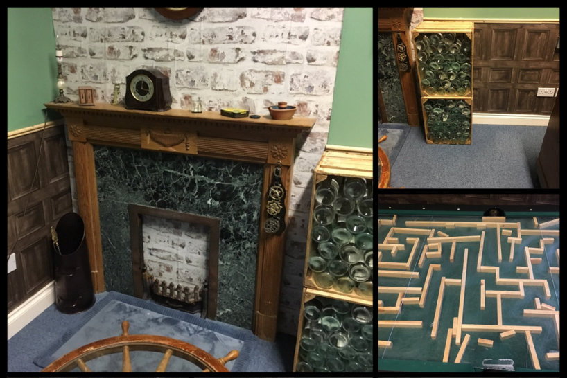 Elements of an escape room set