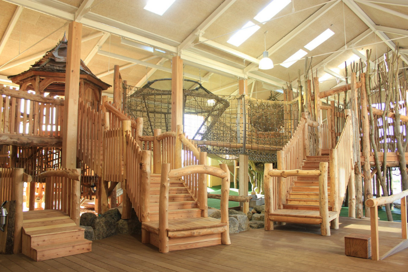 Indoor play area at William's Den