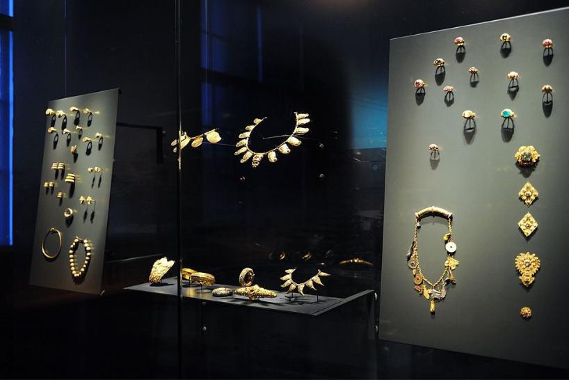Jewellery Heist room