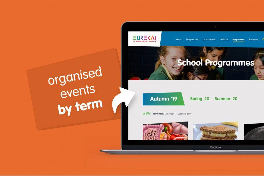 Eureka! The National Children's Museum education website